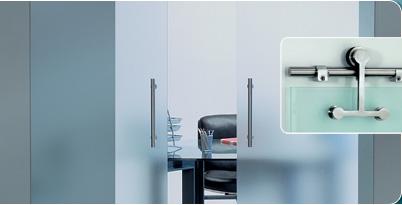 Автоматические раздвижные двери на стекло